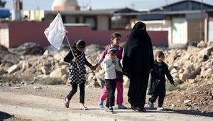 وزير الهجرة العراقي يكشف عدد النازحين من غرب الموصل بـ10 أيام فقط