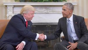 أول لقاء بين الرئيسين.. أوباما: سأساعدك .. وترامب: سأستشيرك