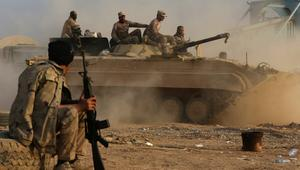 القوات العراقية تسقط منشورات بالموصل وتتقدم شرق المدينة