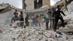 مقتل أطفال إثر غارات جوية شرق حلب.. وروسيا: لا نقصف المدينة