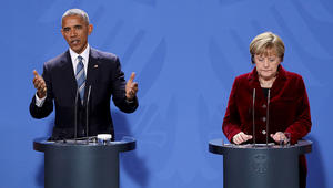 """أوباما يطالب ترامب بالتصدي لروسيا وعدم توقيع اتفاقيات """"مؤذية"""" مع بوتين"""