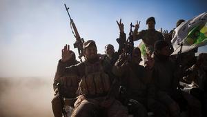الحشد الشعبي يعلن وصول قواته للحدود بين العراق وسوريا
