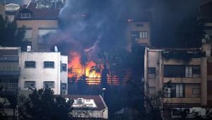 وزير إسرائيلي يكشف ما لا يقل عن 10 اعتقالات على صلة بالحرائق