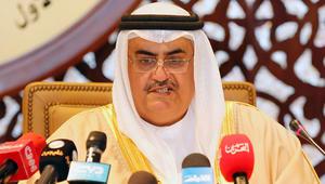 وزير خارجية البحرين: إحضار الجيوش الأجنبية
