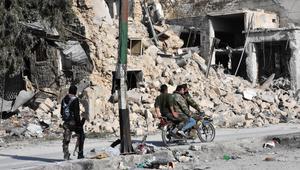 قصف حلب يستمر في مناطق سيطرة المعارضة