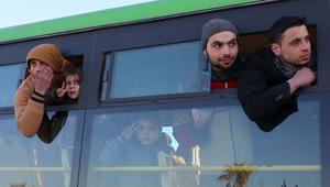 دمشق: بدء دخول الحافلات إلى شرق حلب وإتمام الإجلاء