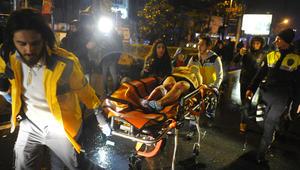 شاهد اللحظات الأولى بعد هجوم إطلاق النار في ملهى ليلي بتركيا خلال احتفالات رأس السنة