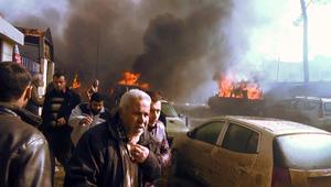 عشرات القتلى والجرحى إثر تفجير شاحنة مفخخة هزّ مدينة أعزاز السورية قرب الحدود التركية