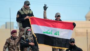 القوات العراقية تعلن سيطرتها على الجانب الشرقي من الموصل بالكامل.. والعبادي: اقترب تحقيق وعد التحرير النهائي