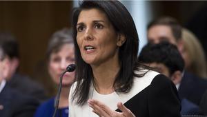 سفيرة أمريكا بالـUN: علينا التأكد من إخراج إيران من سوريا