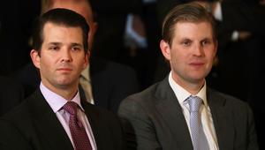 ابنا رئيس أمريكا يزوران دبي لافتتاح ملعب ترامب للغولف.. و