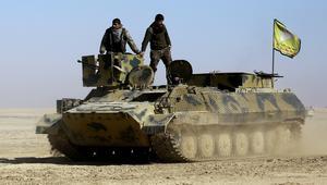 قوى سوريا الديمقراطية تنتزع السيطرة على مطار الطبقة في الرقة من قبضة داعش
