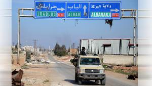 السويدان يدعو داعش لتغيير شعارهم بعد استعادة مدينة الباب بسوريا