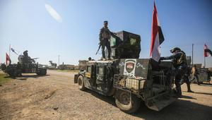 العراق: قوات الجيش تبدأ اقتحام مطار الموصل