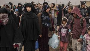 وزارة الهجرة العراقية: 14 ألف نازح من الموصل في يوم واحد