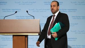 """وفد المعارضة السورية: النظام يرفض مناقشة الانتقال السياسي ويكتفي بـ""""الأسطوانة الفارغة"""""""
