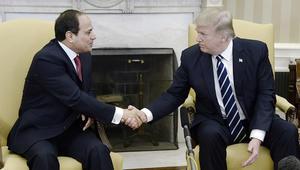 ترامب بعد تفجيري كنيستين في مصر: أثق في قدرة السيسي