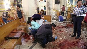مصر: ارتفاع عدد ضحايا تفجيري مارمرقس ومارجرجس إلى 43 قتيلا و119 مصابا