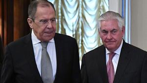بوتين يلتقي تيلرسون للمرة الأولى بعد الضربة الأمريكية على سوريا