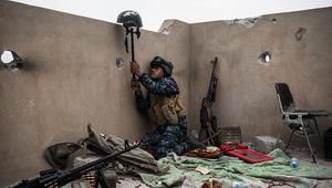 القوات العراقية تتقدم لما تبقى من غرب الموصل