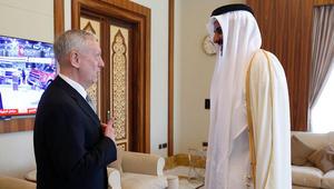 ماتيس لأمير قطر: ملتزمون بالعمل على تحسين العلاقات