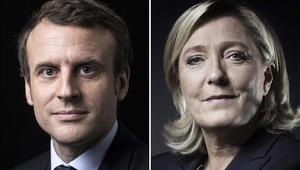 ماكرون ولوبان يتأهلان للجولة الثانية من انتخابات الرئاسة الفرنسية