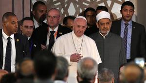 بابا الفاتيكان في مؤتمر الأزهر للسلام: مستقبل البشرية قائم على الحوار بين الأديان