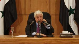 المعلم: مصر لديها رغبة صادقة في تعزيز العلاقات مع سوريا