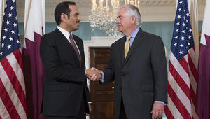 تيلرسون: نأمل في تقديم قائمة مطالب منطقية لقطر قريبا.. وندعم وساطة الكويت لحل الأزمة