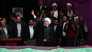 إيران تعلن فوز روحاني بـ57% من الأصوات بالانتخابات