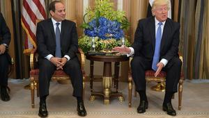 ماذا قال ترامب عن حذاء السيسي على هامش قمة الرياض؟