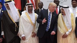 """البيت الأبيض: ترامب يشدد في اتصالات مع العاهل السعودي وولي عهد أبوظبي وأمير قطر على أهمية """"الوحدة"""" لتحقيق أهداف قمة الرياض"""
