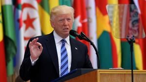 خطاب ترامب في القمة العربية الإسلامية الأمريكية (النص الكامل)