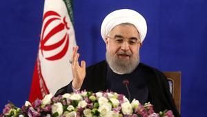 """روحاني: قمة السعودية """"مسرحية لا قيمة سياسية"""" لها.. ومكافحة الإرهاب ليست بـ""""مد القوى العظمى بالمال"""""""