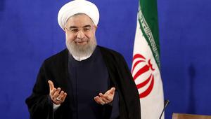 روحاني لتميم: قطر دولة شقيقة لإيران.. ويجب تنمية العلاقات الاقتصادية