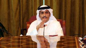 """وزير خارجية قطر ردا على الجبير وتصريح """"دفع الدوحة لأموال مقابل الوجود الأمريكي بسوريا"""": لا يستحق الرد"""