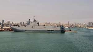 """مصر تشتري سفينتي """"ميسترال"""" من فرنسا بعد إلغاء الصفقة مع روسيا"""