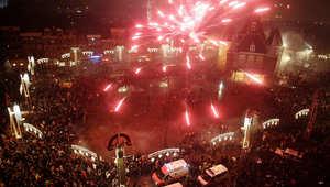 الألعاب النارية ضيف شرف ليلة رأس السنة.. استمتعوا بها في هذه المدن..