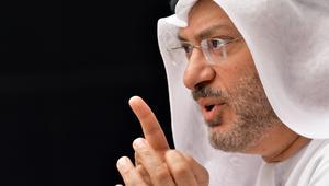 """قرقاش: أزمة قطر تتجه إلى مرحلة """"النار الهادئة"""" و""""القطيعة"""" ستطول"""