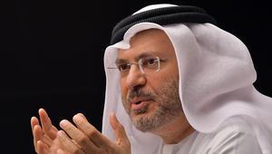 قرقاش: حقوق الإنسان بقطر تقدمت ببلاغ إعلامي ضد الإمارات