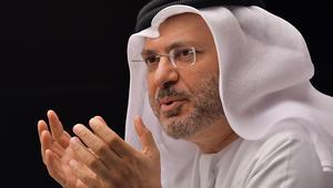 """قرقاش يطالب تركيا باحترام سيادة الدول العربية والتعامل بـ""""عقلانية"""""""