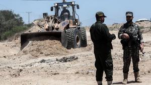 """حماس تقيم """"منطقة عسكرية عازلة"""" على حدود غزة مع مصر"""