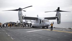 فقدان 3 مارينز وإنقاذ 23 إثر حادث طائرة أمريكية شرق أستراليا