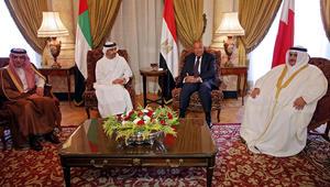 """وزراء خارجية دول """"المقاطعة"""": لا يمكن التسامح مع الدور التخريبي لقطر.. ونأسف للرد السلبي على المطالب"""