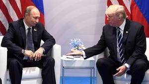 ترامب وبوتين يتفقان على دعم وقف إطلاق النار جنوب غرب سوريا