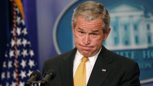 جورج بوش: أشعر بالقلق من احتمال أن أكون آخر رئيس جمهوري أمريكي