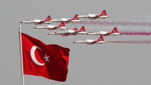 """أردوغان: """"درع الفرات"""" مستمرة حتى القضاء على تهديد داعش و""""PKK"""" و""""PYD"""" لشعبنا.. والأركان التركية: العملية بسوريا أثبتت أن جيشنا لم يفقد قوته"""