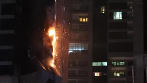 دبي: احتراق 38 شقة من 676 في حادث برج الشعلة