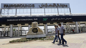 المرصد السوري: 6 قتلى في معرض دمشق إثر سقوط قذيفة