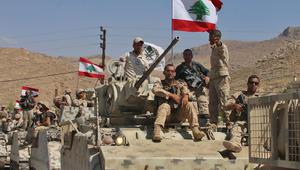 """الجيش اللبناني يعلن وقف إطلاق النار بعملية """"فجر الجرود"""""""
